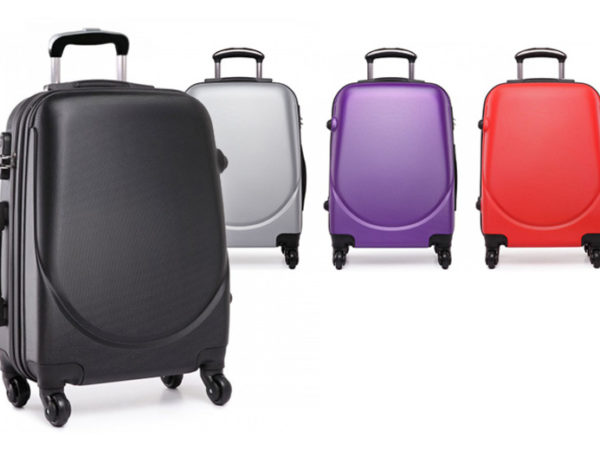£22 (from Lulu Bags) for cabin-approved hand luggage in black, red, grey or purple