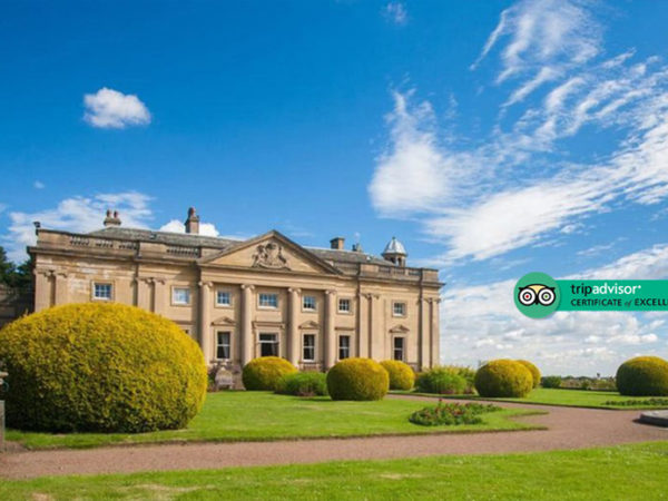 £79 (at Wortley Hall) for an overnight stay for two people with breakfast, a glass of Prosecco and cream tea on arrival, or £119 for a two-night stay - save up to 47%