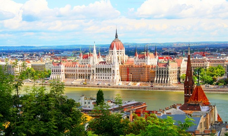 ✈ Prague, Budapest, Vienna & Berlin or Bratislava: 8 Nights with Flights and Transfers Between the Cities*