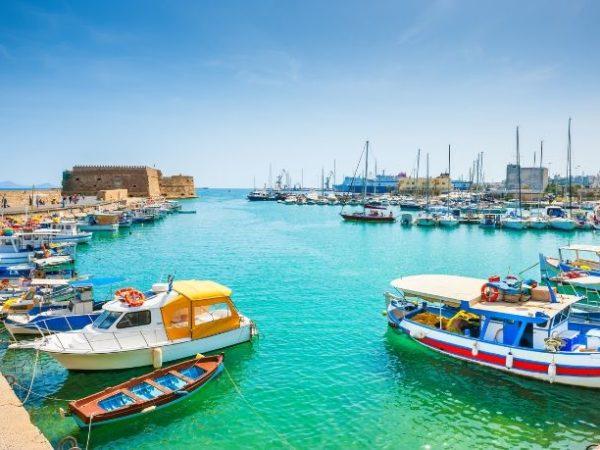 Best of Crete road trip, Hersonissos, Agia Marina, Rethymno, Crete, Greece
