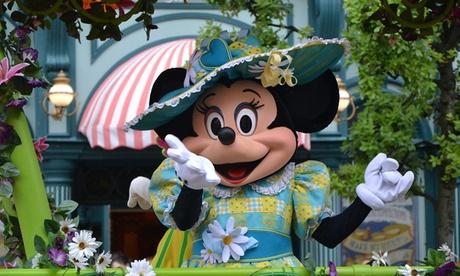 Disneyland Paris: 2 to 4 Nights with Eurostar Return Travel and 1-Day Ticket to 1 Disneyland Park
