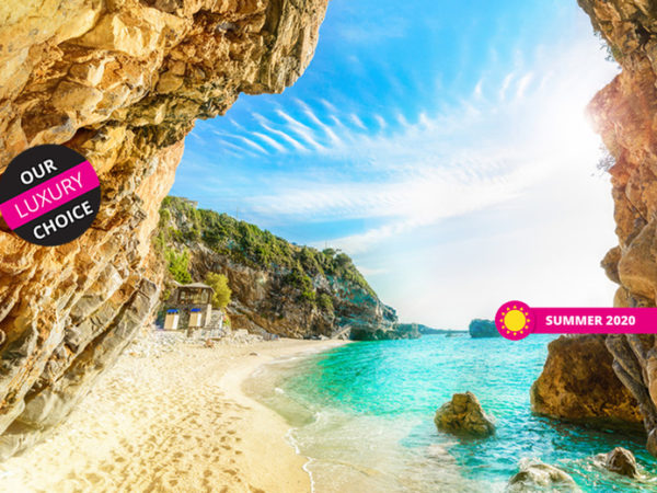 Escape with a three, four, five or seven-night 5* getaway to Corfu - Now with the ability to choose your flight!