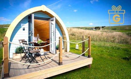 Lancashire: 2 Nights in Cottage for 3 or Glamping Pod for Up to 4 with 25% Off Food and Drinks at Rossendale Holidays