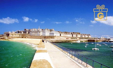 Saint-Malo, Brittany: 1-3 Nights for Two with Breakfast, Soft Cocktail and Option on Massage at Hôtel de l'Univers