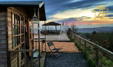 Shropshire: 1- to 3-Night Glamping for Two with Breakfast, Hot Tub Access and Optional Alpaca Experience at Abel's Harp