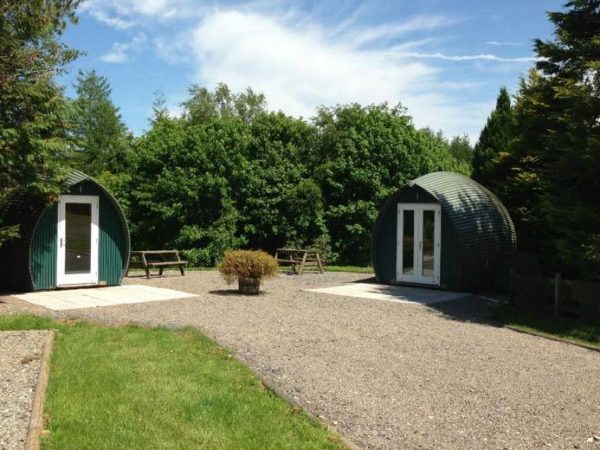 £49 (at Gill Head Farm) for a two-night Lake District glamping break in a wooden camping pod for two people - save 38%