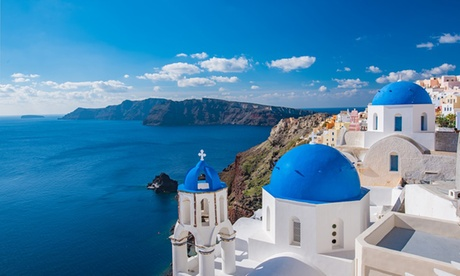 ✈ Athens and Santorini: 5 or 7 Nights at a Choice of Hotels with Flights and Ferry Transfer*