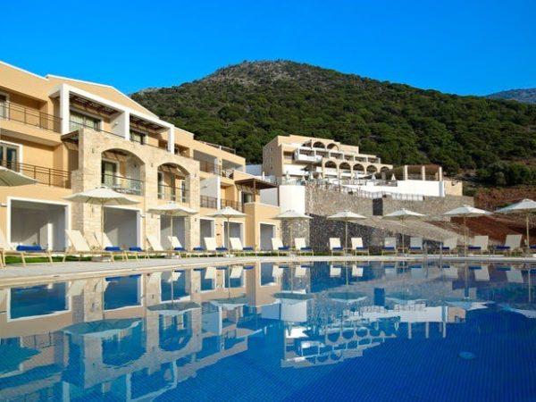 5* Crete escape at a scenic spa resort, Filion Suites Resort & Spa, Greek Islands - save 29%