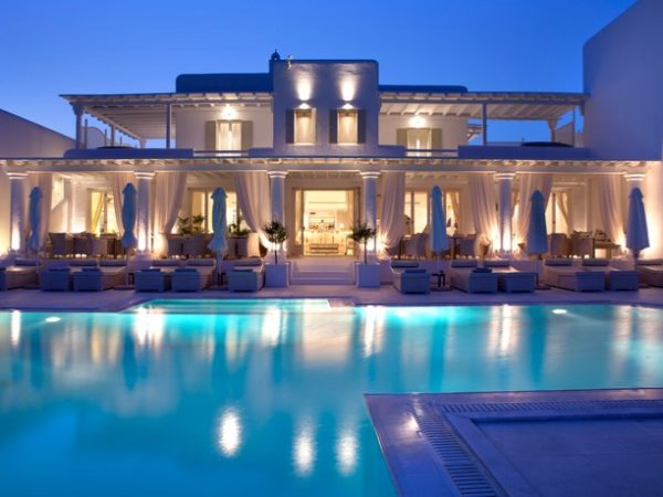 5* ultra-chic Mykonos beach escape with an optional sharing pool suite, La Residence, Greece - save 44%