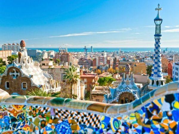 Barcelona, the city of Antoni Gaudí, Barcelona, Spain
