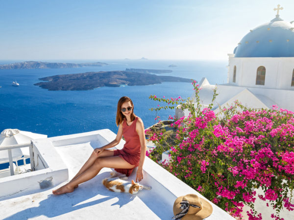 Escape with a three, four, five or seven-night 4* getaway to Santorini - Now with the ability to choose your flight!