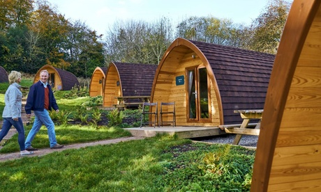 Forest of Dean: 1- or 2-Night Glamping Getaway for Four People at Whitemead Forest Park