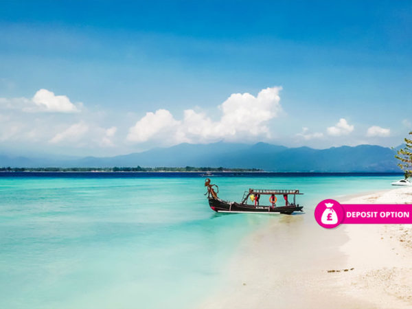 From £749pp (from Great Pacific Travel) for an eight-night Bali and Gili Island break with return flights, or pay a £359pp deposit today - save up to 37%