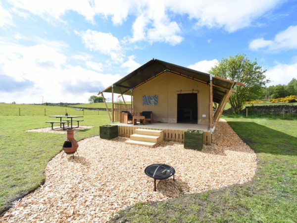 £149 (at Carr's Hill, Denny) for a two-night glamping stay in a safari tent for up to five people, £199 for three nights or £269 for four nights - save up to 32%