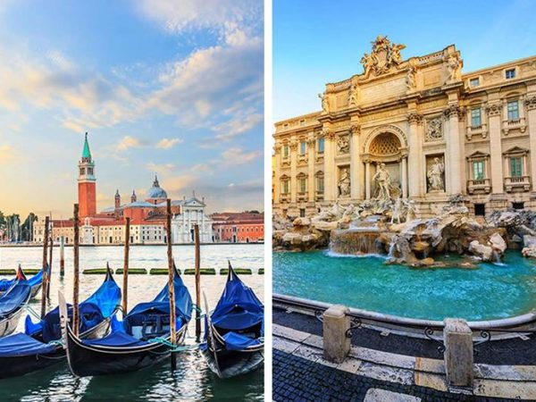From £149pp (from Super Escapes Travel) for a four-night Venice and Rome, Italy holiday with breakfast, train transfer and return flights - save up to 43%
