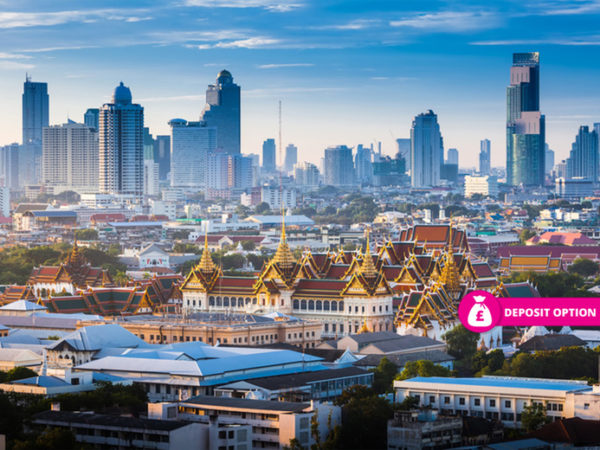 From £759pp (from Travel Center) for a 10-night Bangkok, Phuket and Dubai multi-centre break with return flights, or pay a £200pp deposit today - save up to 21%
