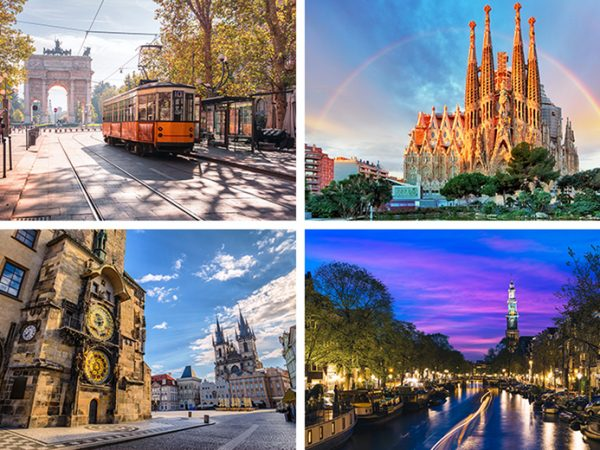 From £89 (from Weekender Breaks) for a two-night European city break for one person with return flights, from £149 for three nights, or from £189 for four nights - save up to 66%