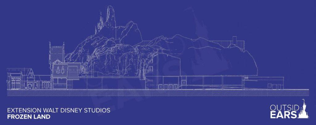 arendelle disneyland paris blueprint