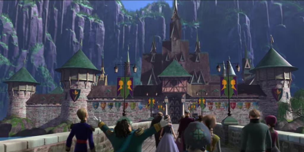 arendelle Frozen Movie