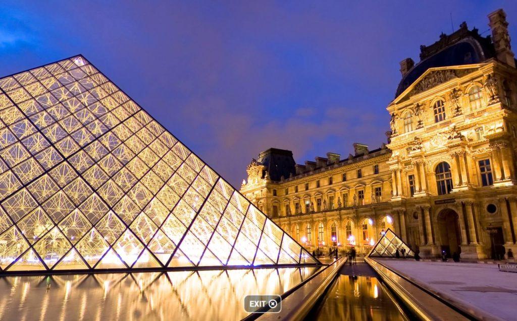 virtual tour, virtual museum, Louvre museum