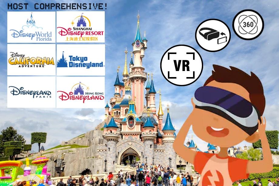 Disney Virtual Rides, Virtual tour, VR, Disneyland