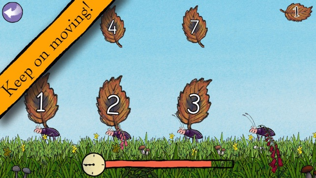 Gruffalo Games App - Keep on moving!
