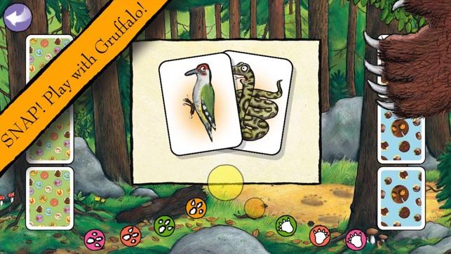 Grufallo Games App - SNAP Play with Gruffalo