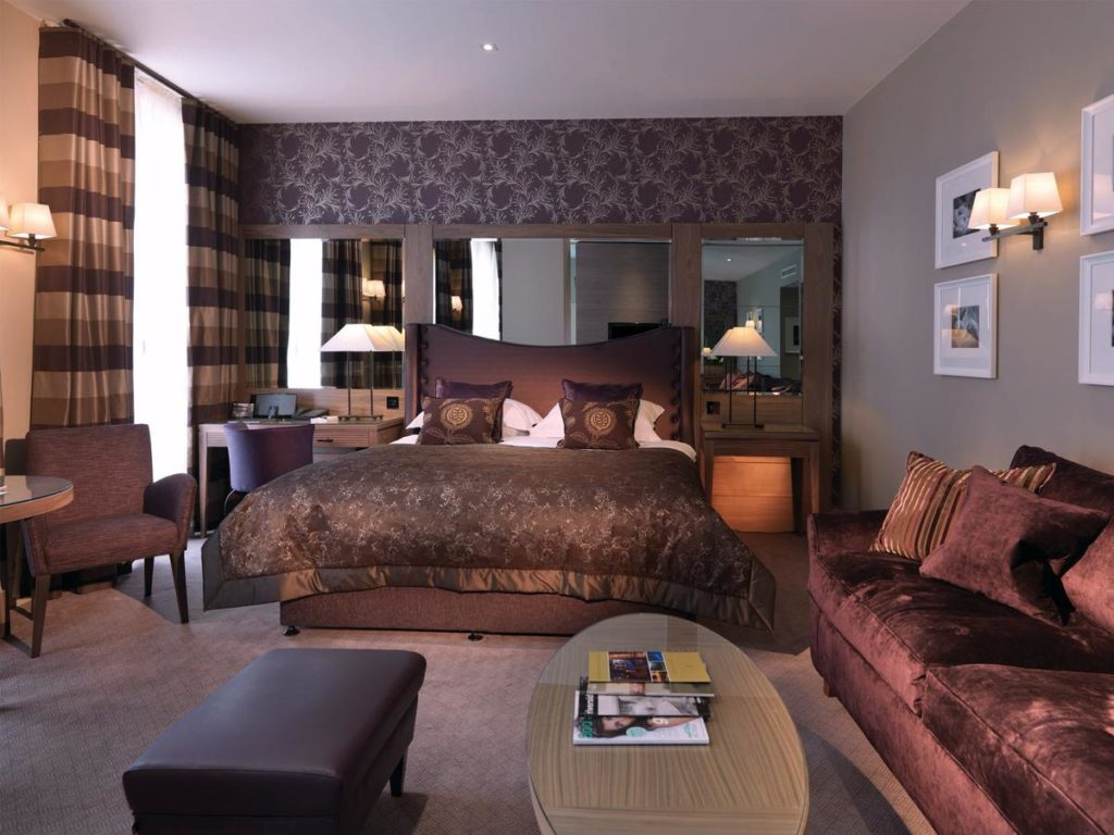 Family Room with luxurious Egyptian cotton linen inside family and pet-friendly MacDonald Windsor Hotel