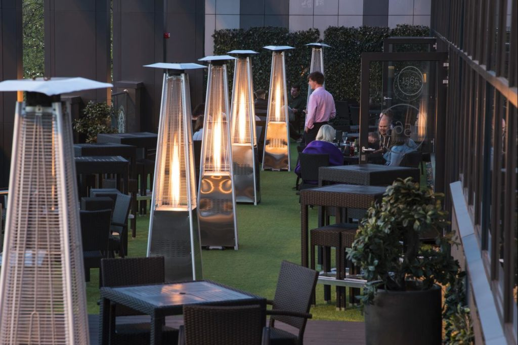 Beautiful alfresco dining option for families at Park Regis Birmingham