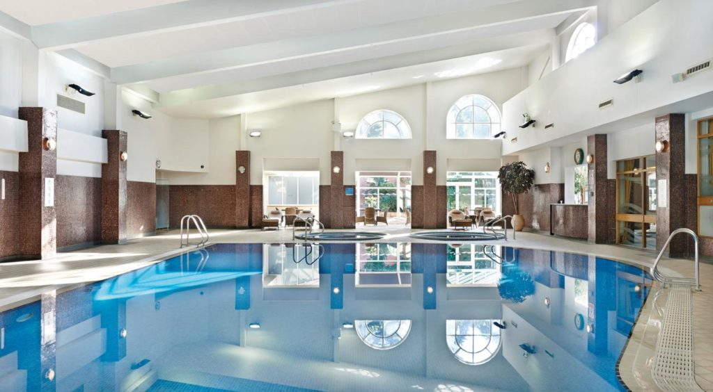 Large Swimming pool of luxury family-friendly hotel, The Belfry Hotel & Resort
