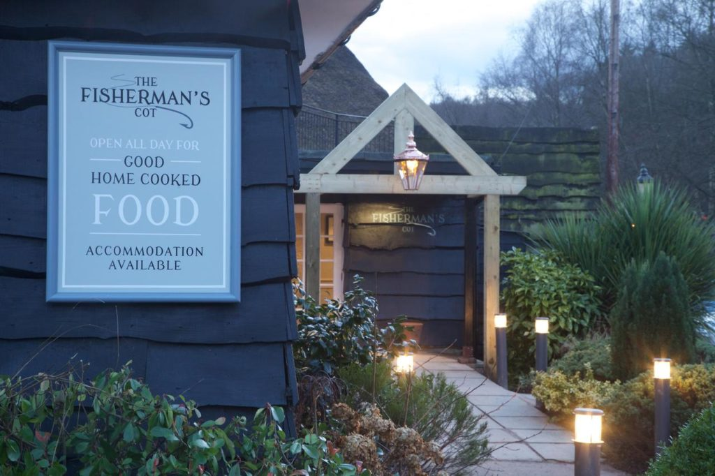 External view at family-friendly The Fisherman's Cot by Marston's Inns