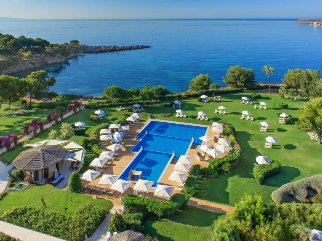 aerial view from the st. regis mardavall mallorca resort