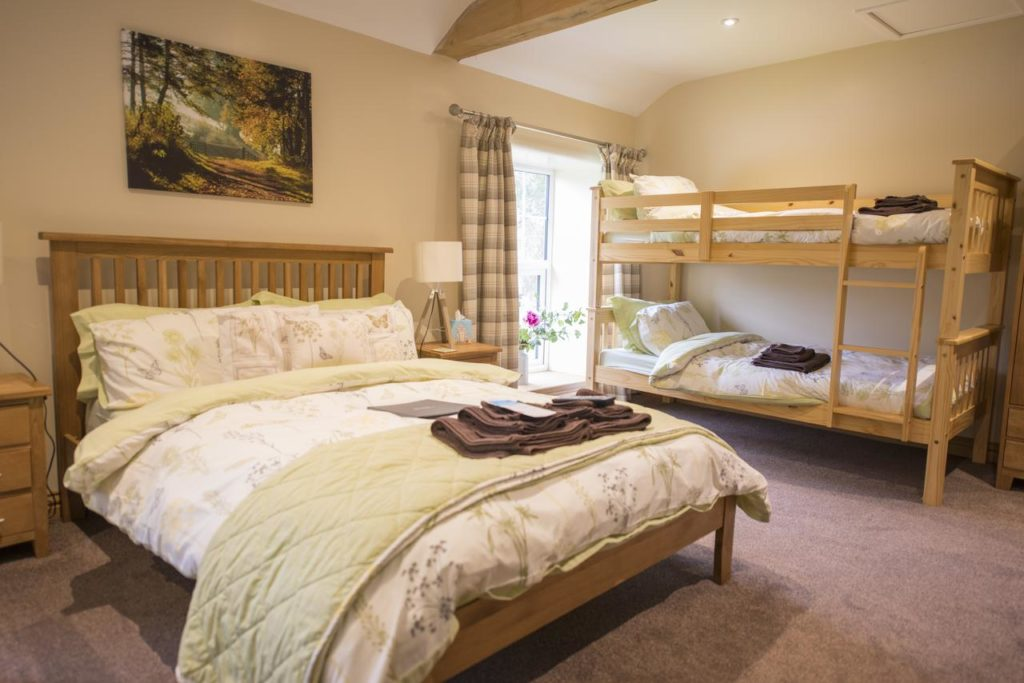 Inside a family room with double deck and sleeps 4 at The Star Inn