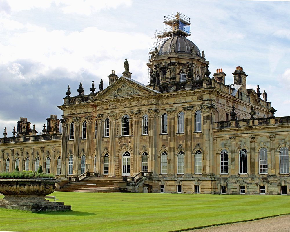 external look of Castle Howard, top places to visit in York for families