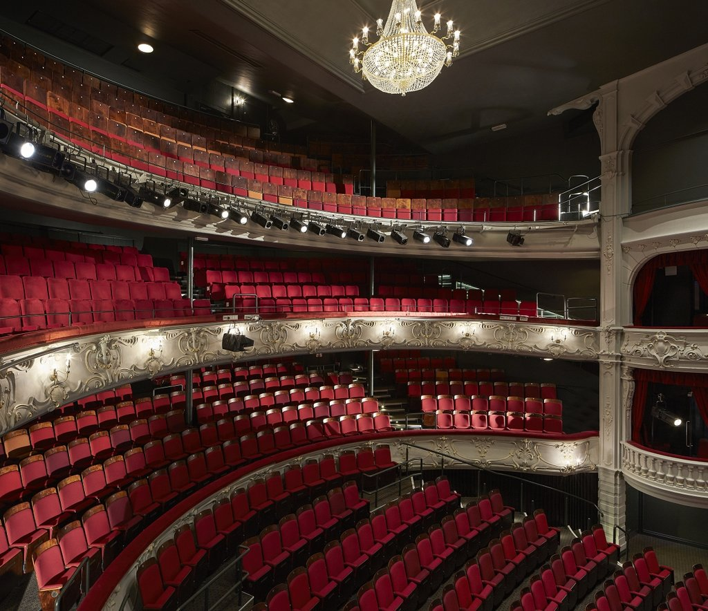 An inside look of the York Theatre Royal