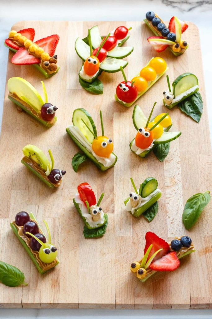 Fruit & Vegetable Bug Snacks