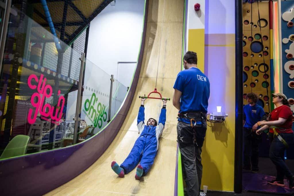 Inside Cornwall's biggest clip n climb centre