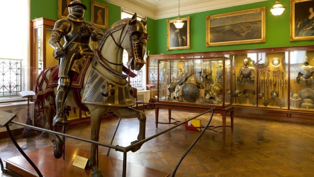 knight's gear and armours inside the family-friendly wallace collection