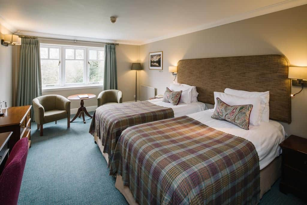 family friendly room at the Lindeth Howe hotel in the Lake District