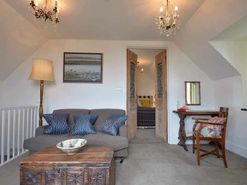 family room inside moonfleet manor in weymouth dorset
