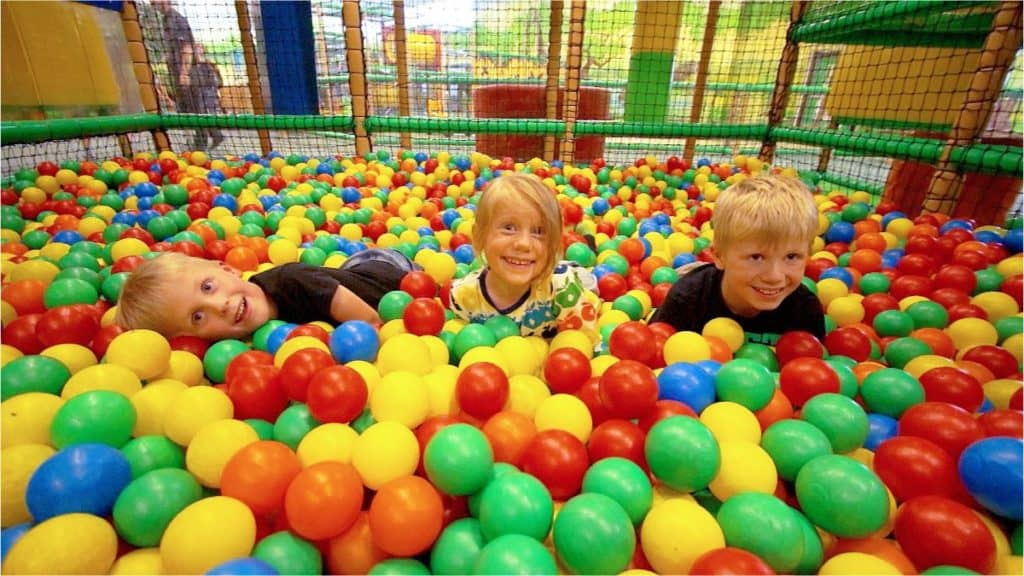 Indoor Play at Raze the Roof in Penryn Cornwall