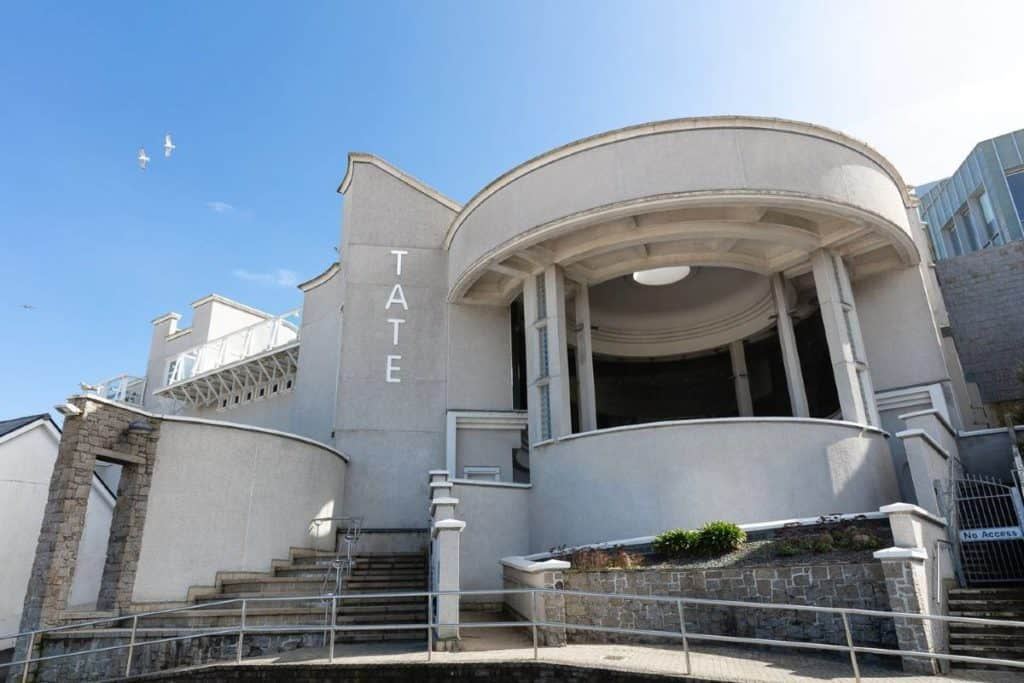 Exterior view of the Tate Gallery Cornwall