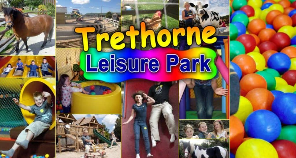 Some of the different activities you can do at Trethorne Leisure Park