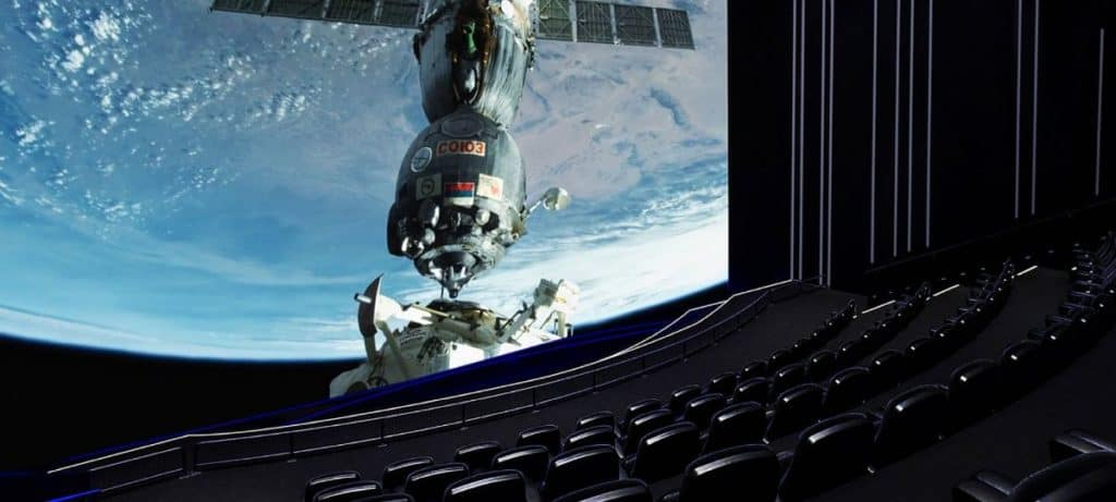 world's most immersive movie experience at the science museum's IMAX 3D cinema.