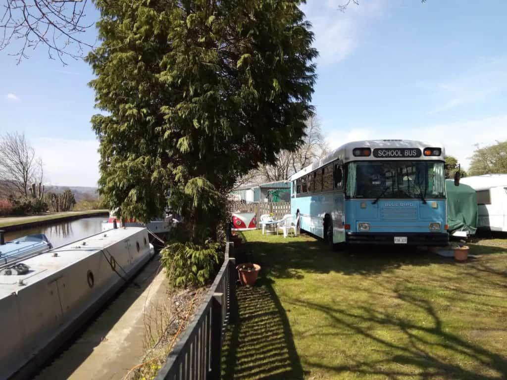 British Bluebird Bus Leroy
