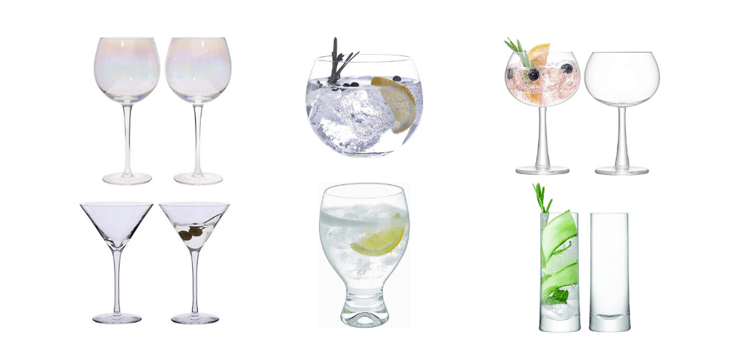 Best Gin Glasses