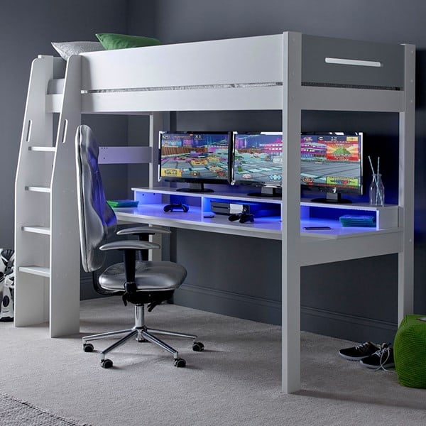 Urban Grey gaming bed