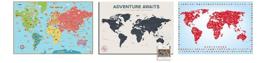 Best World Map Posters