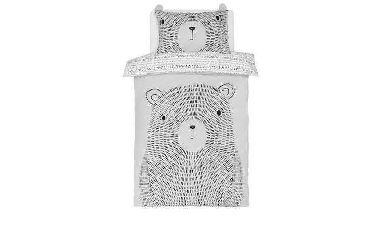 Argos Home Dash Bear Bedding Set - Toddler