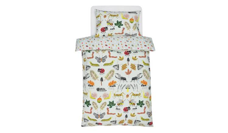 Argos Home Insect Bedding Set - Toddler